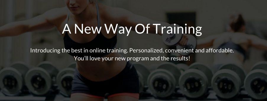 online training female fitness