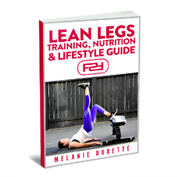 lean legs training program  female fitness systems